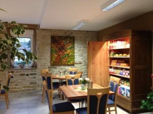 """Eines der Bilder im Café des """"Cöllner Lädsche"""""""